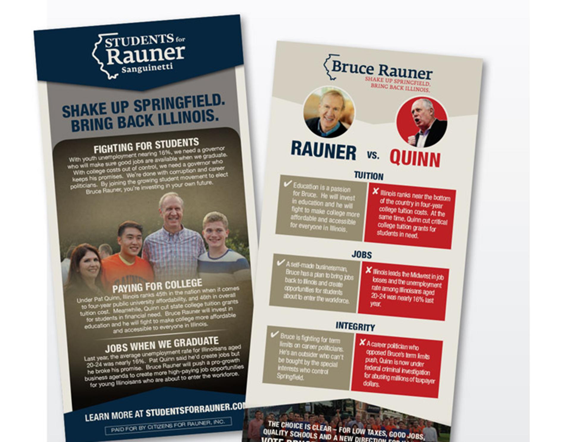 Bruce Rauner Direct Mail