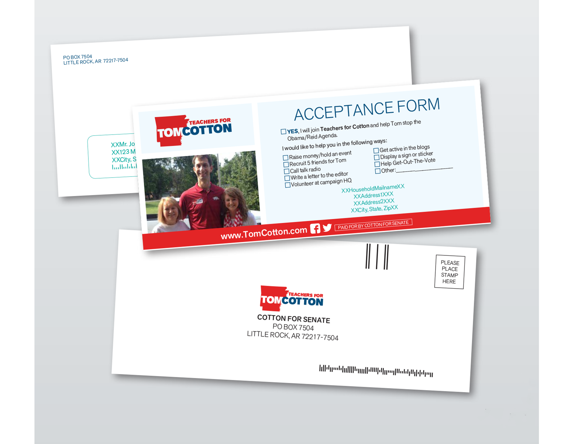 Tom Cotton Direct Mail